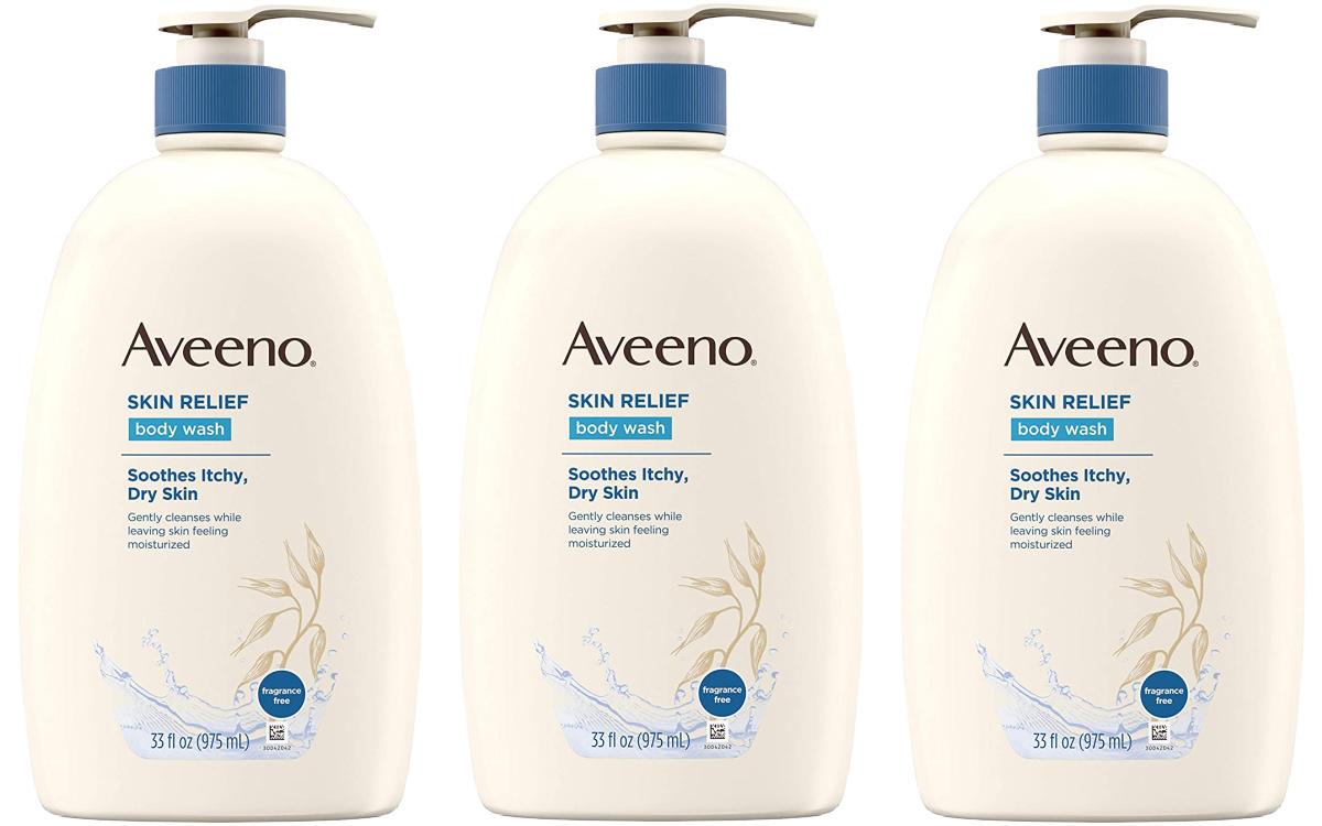 Aveeno Skin Relief 33oz Fragrance-Free Body Wash
