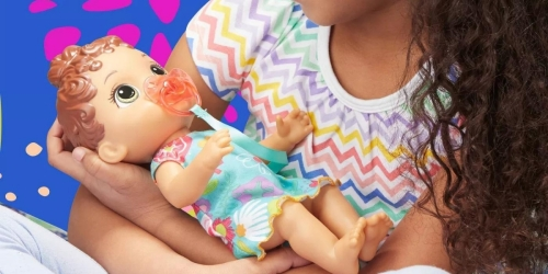 50% Off Toys at Target + Stackable Coupons   Save BIG on Baby Alive, Kidkraft, Barbie & More