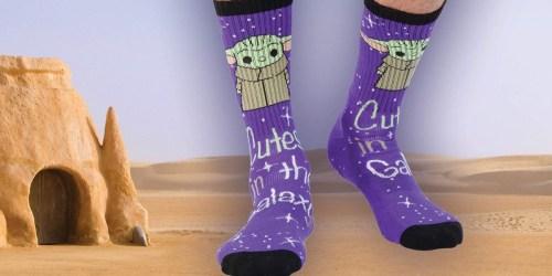Star Wars Baby Yoda Socks Just $6 on Amazon | Fun Gift Idea