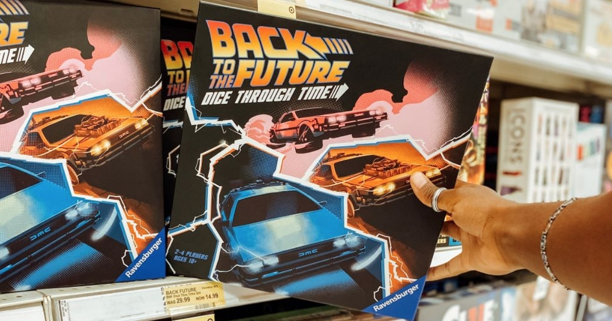 back to the future dice through time game in store