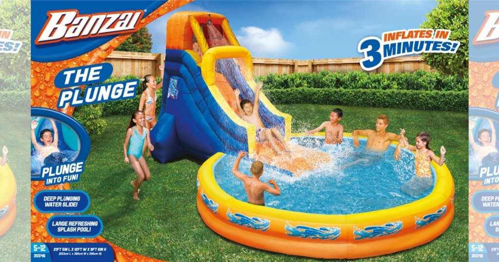 """Banzai """"The Plunge"""" Water Park"""
