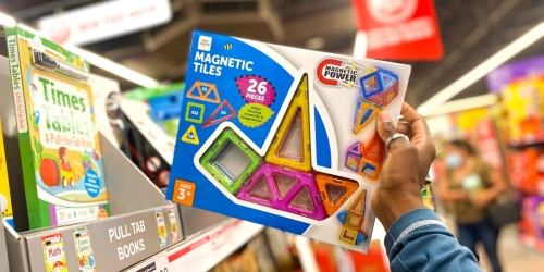 Magnetic Tiles 26-Piece Set Just $12.99 at ALDI