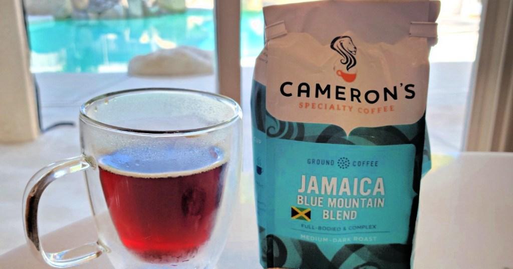 Cameron's Jamaican Blend 10oz Roasted Ground Coffee Bag