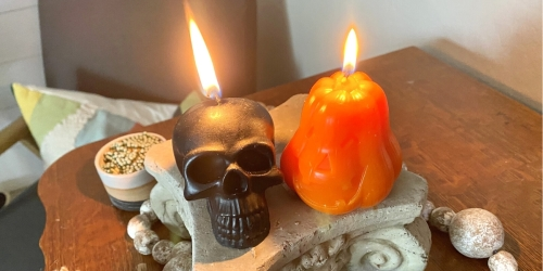 Handmade Halloween Soy Candles 2-Pack Only $10.99 Shipped on Amazon |  Packaged in Giftable Box