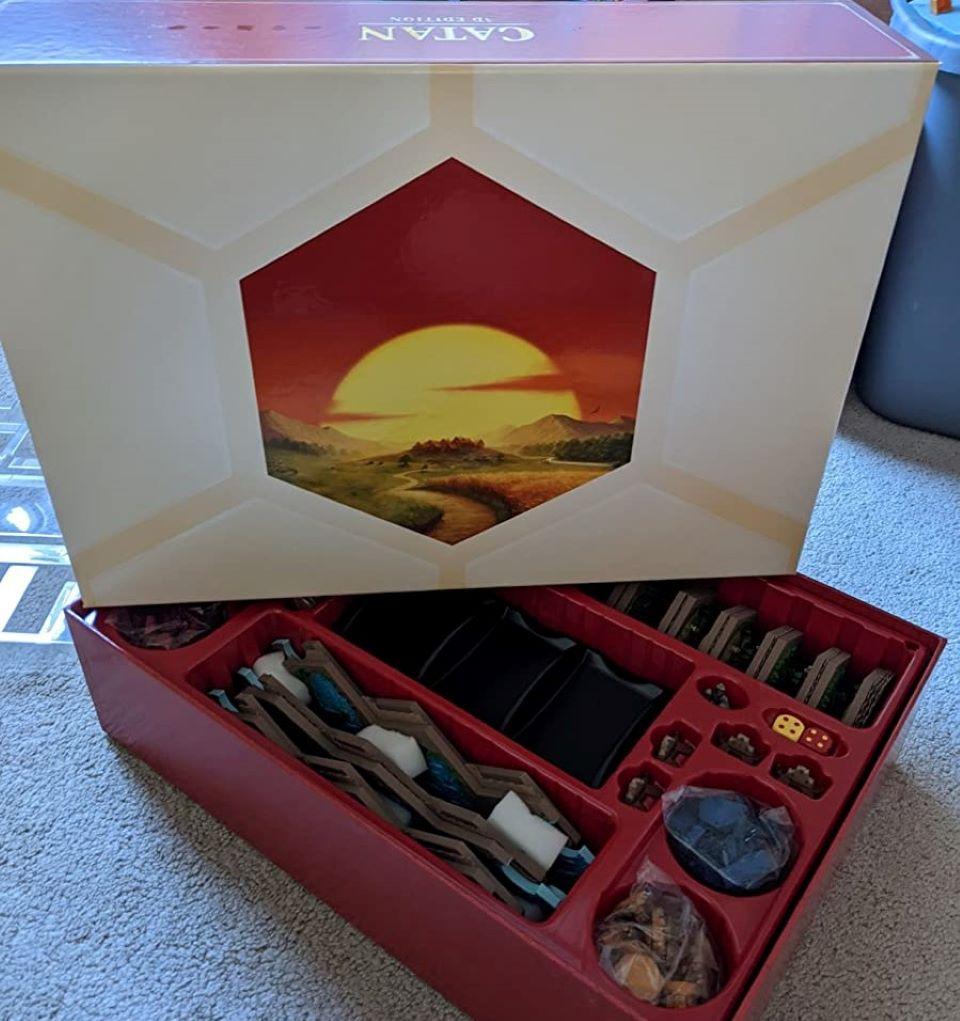 Catan 3D board game