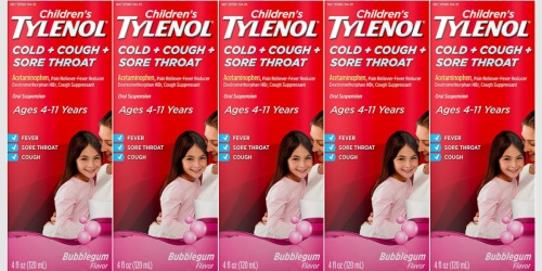 Children's Tylenol Cold Medicine Just $4 Shipped on Amazon