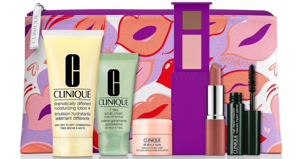 Clinique free 7-piece gift set