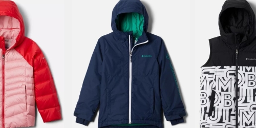 Columbia Jackets & Fleece for the Family from $23.99 Shipped (Regularly $60)