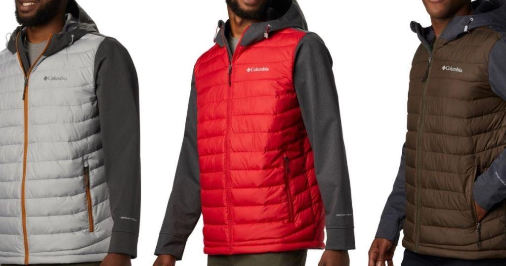 Columbia Men's Pulverization Lite Hybrid Coat Lone $39.73 (regularly $160)