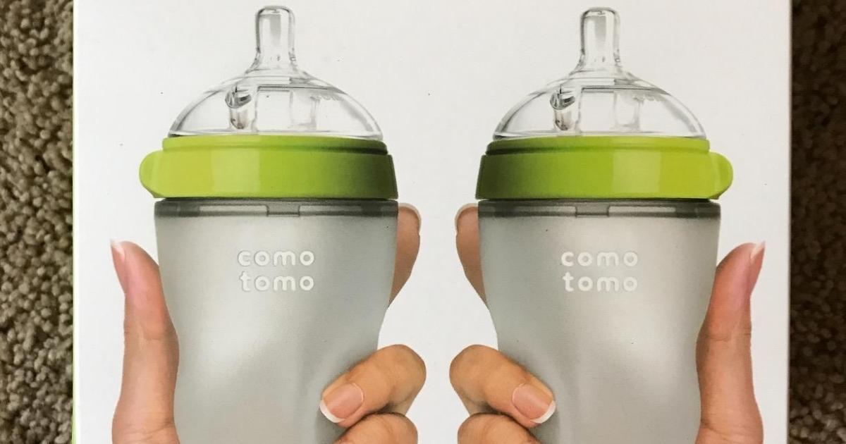 Comotomo 8oz Baby Bottle Twin Pack