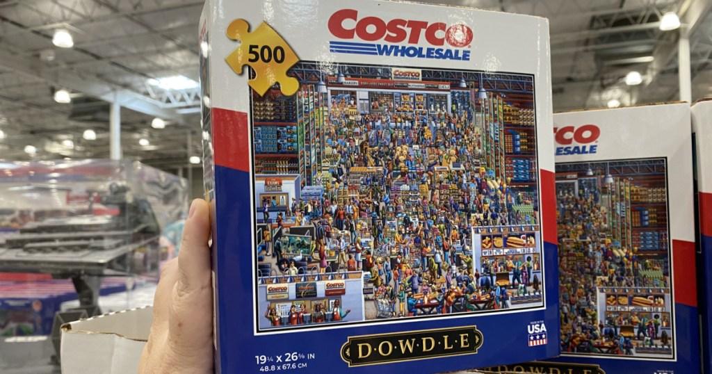 Costco themed puzzle