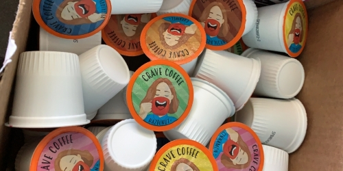 Crave Coffee K-Cups 100-Count Variety Pack Just $23.45 Shipped on Amazon (Regularly $33)