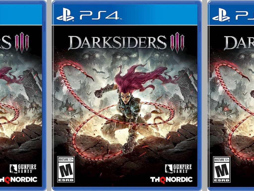 Darksiders PS4 video game