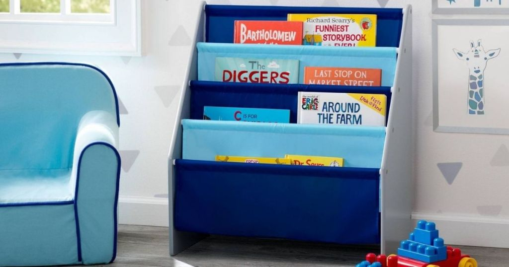 Delta Bookcase for Kids