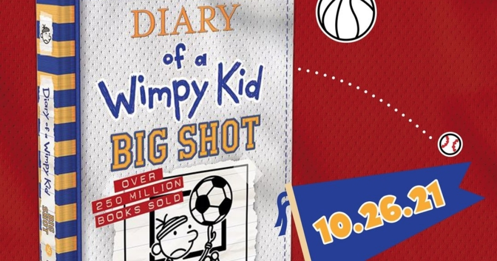Diary Of A Wimpy Kid Big Changeable Publication Lone $5.49 Aft Mark Acquisition Paper Once You Preorder (regularly $15)