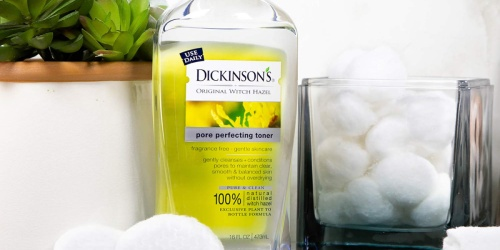Dickinson's Original Witch Hazel Pore Perfecting Toner Just 69¢ Each at Walgreens | Just Use Your Phone
