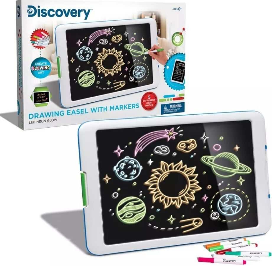 Discovery Easel with Markers