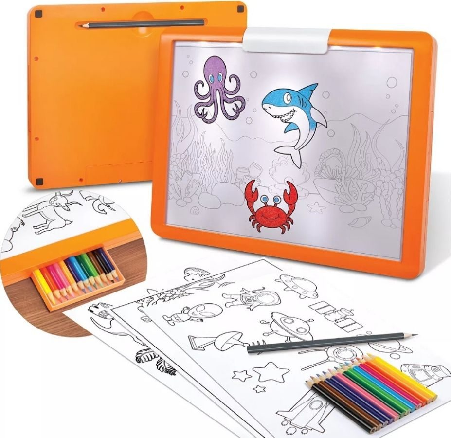 Discovery Kids Light Up Tracing Set