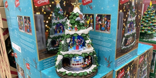 Disney Animated Hand-Painted Christmas Tree Just $99.99 at Costco | Plays Music & Lights Up