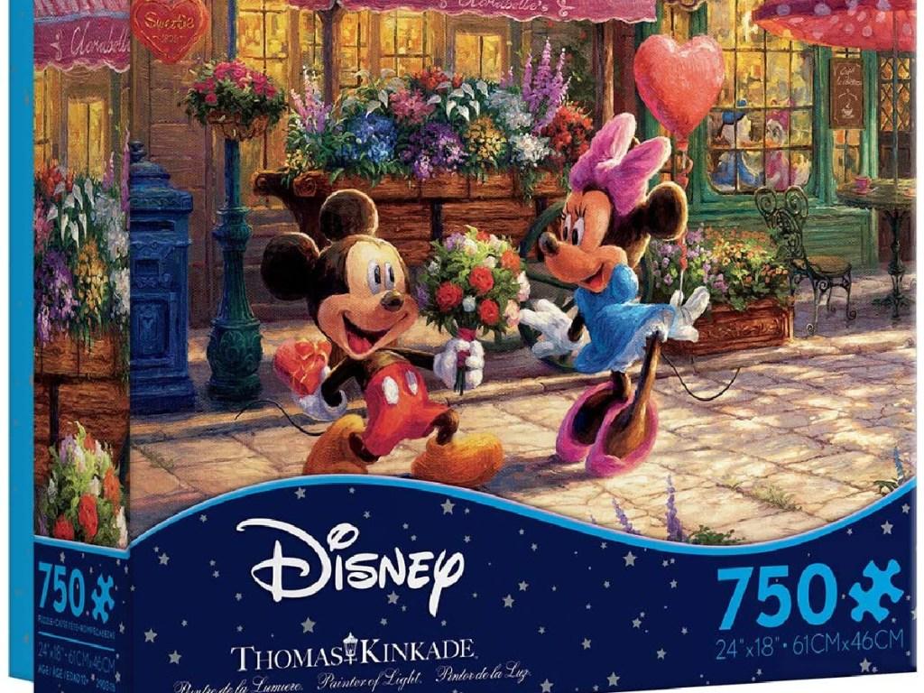 Disney Dreams Mickey & Minnie Sweetheart Café Jigsaw 750 Piece Puzzle