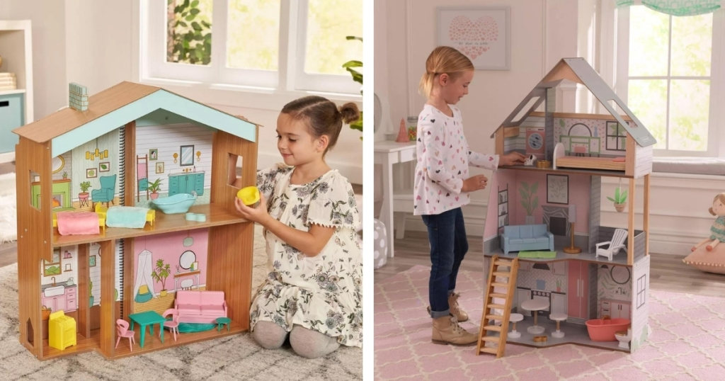 Dollhouses at Target