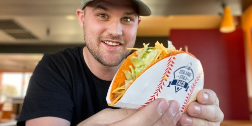 FREE Taco Bell Doritos Locos Taco on November 4th (Rewards Members Grab Yours Today)