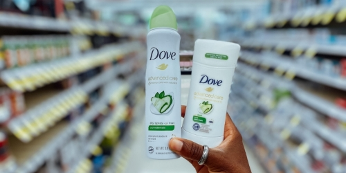 $3.75 Worth of Dove Deodorant Coupons Available to Print