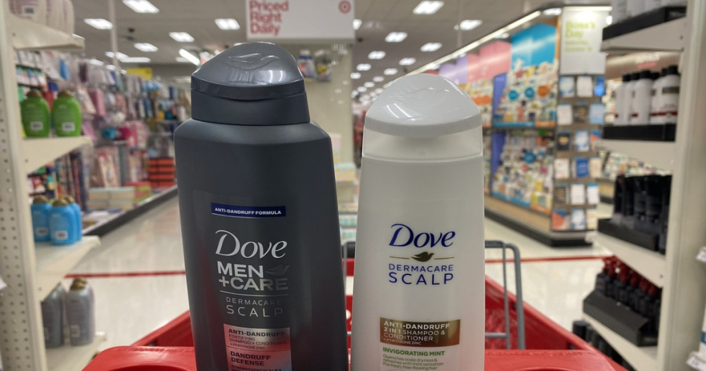 Dove Dermacare Scalp Therapy Haircare in Target cart