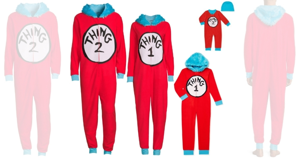 Dr. Seuss Happening 1 & 2 Matching Household Pajamas From $7.50 On Walmart.com (regularly $15)