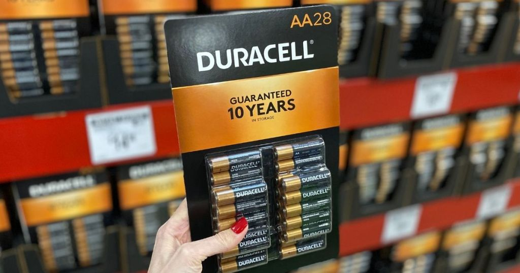 Duracell Aa Batteries 28-pack Conscionable $11.89 On Amazon (reg. $26) | May Sale Out