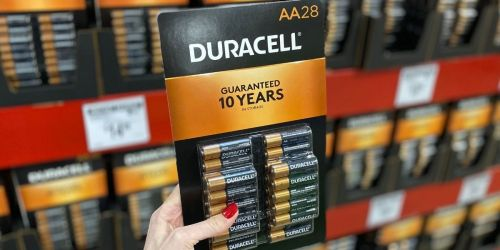 Duracell AA Batteries 28-Pack Just $9.79 on Amazon (Reg. $26) | May Sell Out