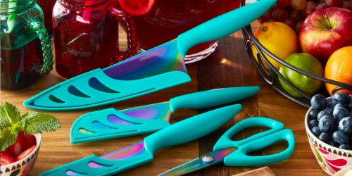 Farberware 11-piece Rainbow Titanium Knife Set Just $19.83 on Walmart.com (Regularly $35)