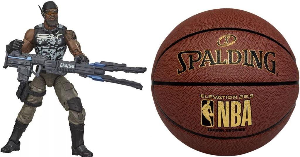 GI Joe and a Basketball