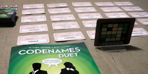Codenames Duet Game Just $13.52 on Amazon (Regularly $20)