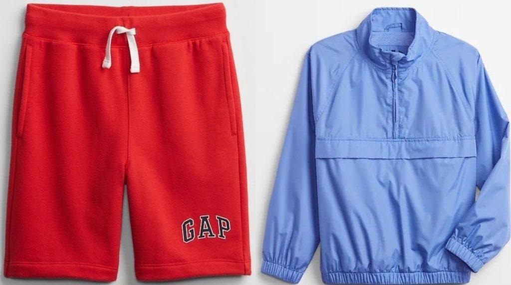Gap Boys Shorts and Anorak