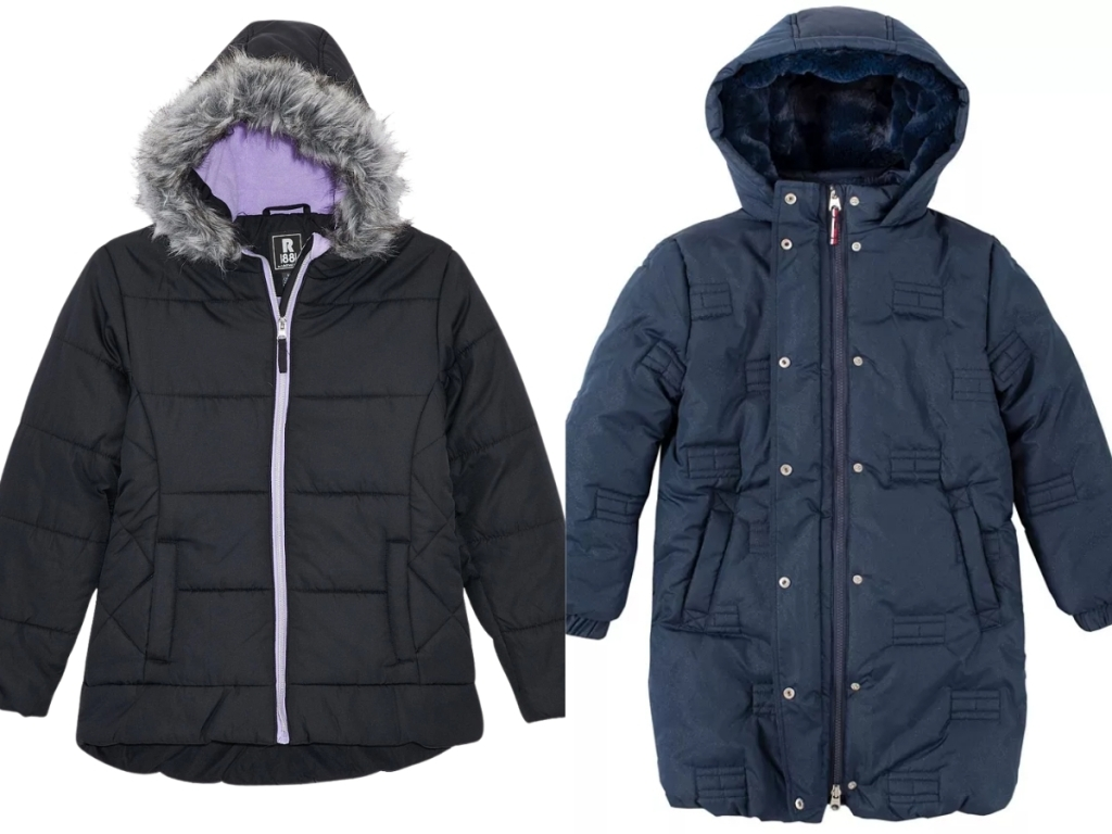 girls s rothschild & co coat and tommy hilfiger coat