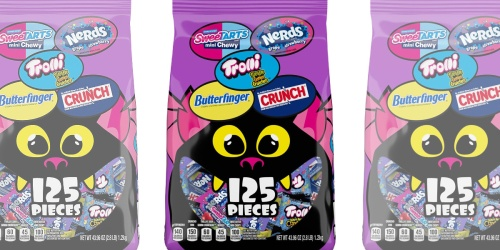 Halloween Candy Variety 125 Count Mix Bag Only $12.79 on Amazon