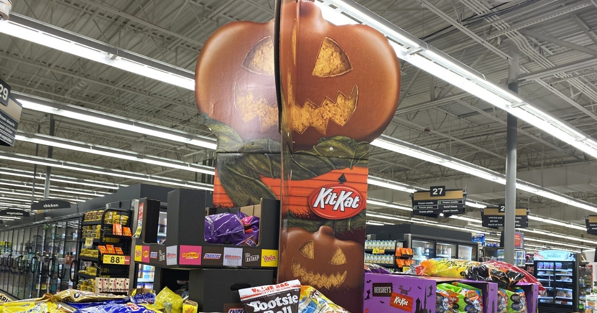 Halloween Candy at Kroger Stores