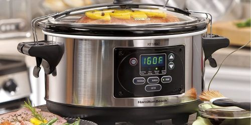 Hamilton Beach 6-Quart Slow Cooker w/ Temperature Probe Only $34.99 Shipped on Amazon (Regularly $65)