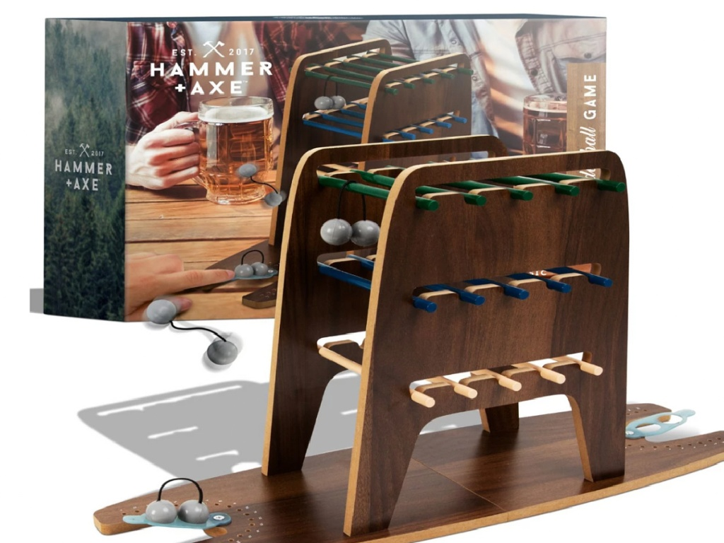 Hammer + Axe Mini Ladder Ball Game