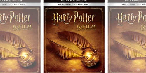 Harry Potter 4K Ultra HD + Blu-ray Complete 8-Film Collection Only $64.99 Shipped on BestBuy.com (Regularly $154)