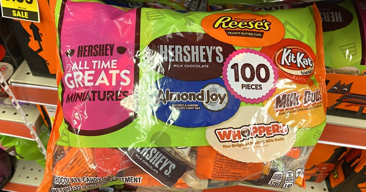 Hershey all time greats miniatures bag