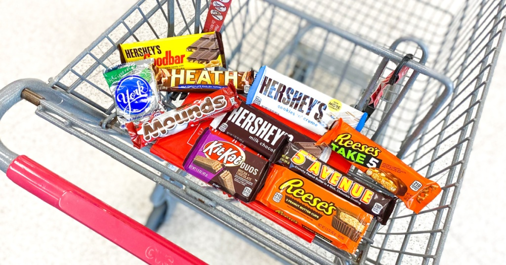 Hershey's Candy Bar Singles Lone 50¢ All Aft Cvs Rewards (includes Payday, Kit Kat, Reese's, & Much)