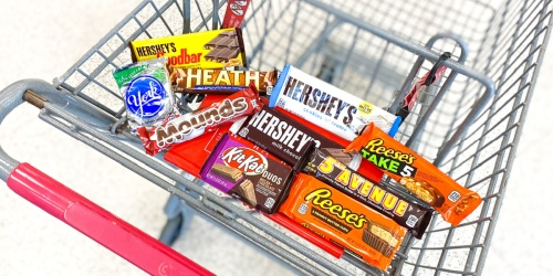 Hershey's Candy Bar Singles Only 50¢ Each After CVS Rewards (Includes PayDay, Kit Kat, Reese's, & More)