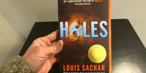 25% Off Kids Book Purchase at Target | Holes Paperback Book Just $3.50