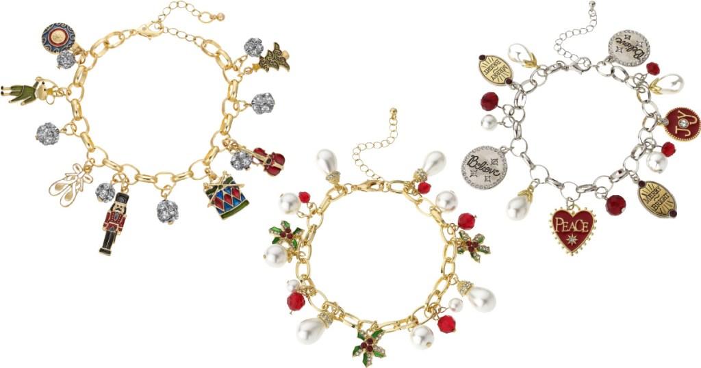 Christmastide Charm Bracelets & Necklaces Lone $11.80 On Macys.com (regularly $30)