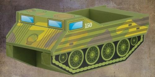 FREE Amphibious Military Vehicle Kids Activity Kit at Home Depot in November