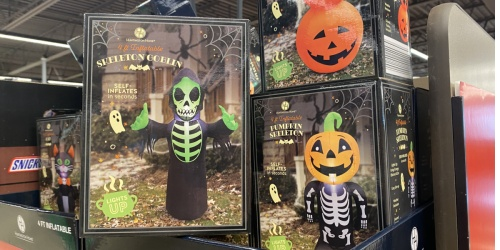 Light-Up 4′ Halloween Inflatables Only $12.99 at ALDI | They Self Inflate!