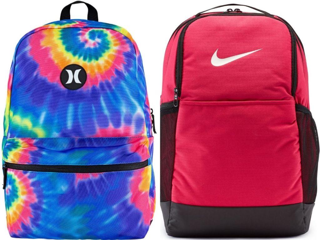 Hurley and Nike Backpack