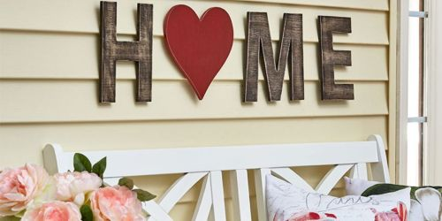 Interchangeable Porch Sign Only $12.49 Shipped (Regularly $25)   + Free Shipping on Any Order